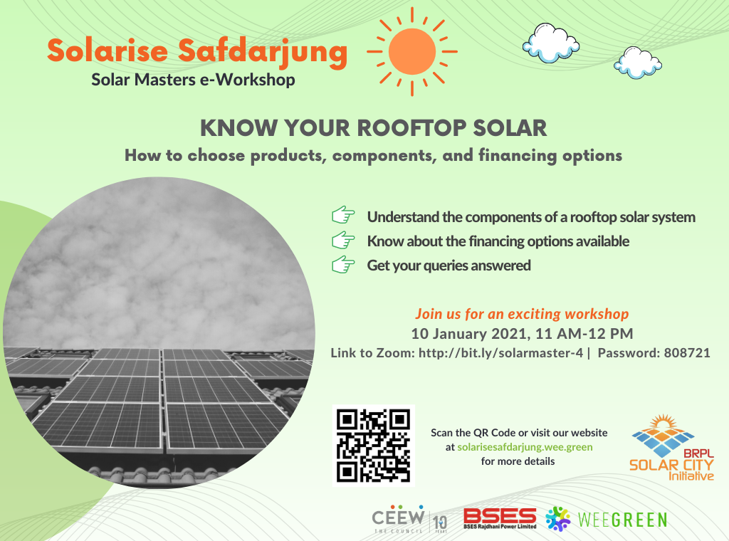 KNOW YOUR ROOFTOP SOLAR