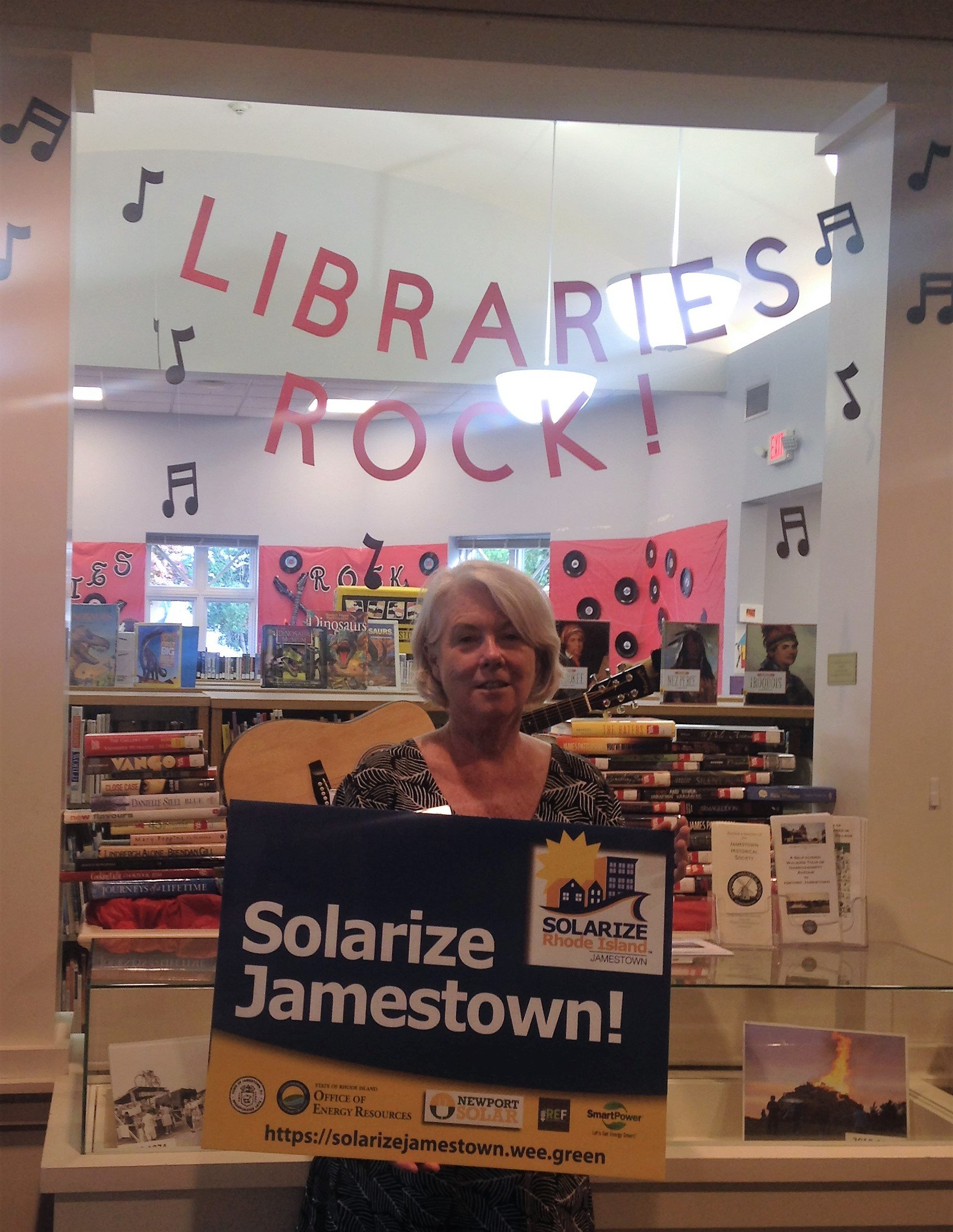 Solarize Jamestown Sign Up Event at Philomenian Library